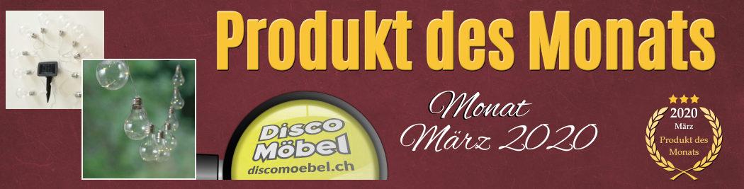 """Produkt des Monats """"LED Lichterkette"""" für Ihren Garten, jetzt bei Disco Möbel, Marbach"""