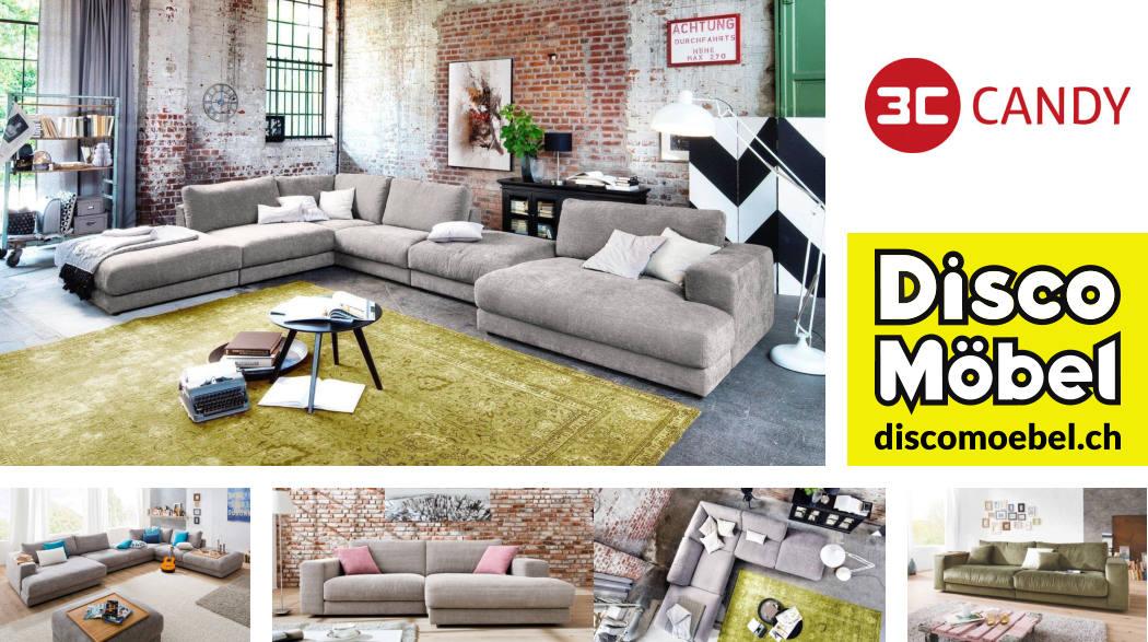 Sofa Giant von 3C Candy Polstermöbel bei Disco Möbel, Marbach.