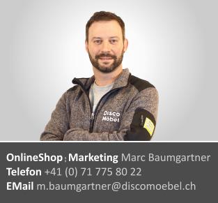 Marc Baumgartner ¦ Online Shop und Marketing