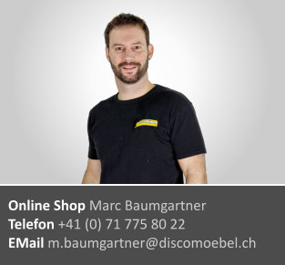 Marc Baumgartner  ¦ Online Shop