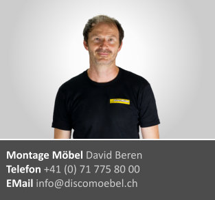 David Beren ¦ Möbel-Monteur