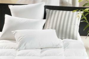 Bettkissen, Daunenkissen für ein gesundes Schlafen