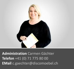Carmen Gächter ¦ Administration & Buchhaltung