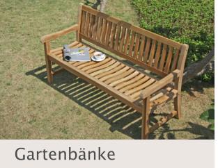 Gartenbänke bei Disco Möbel, Marbach