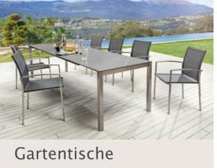 Gartentische bei Disco Möbel, Marbach