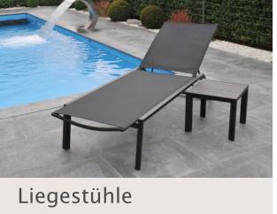 Liegestühle bei Disco Möbel, Marbach