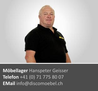 Hanspeter Geisser ¦ Lager