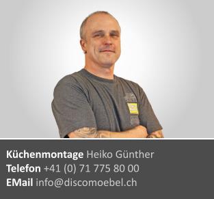 Heiko Günther ¦ Küchen Montage