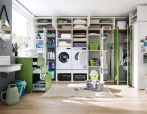 Raumplanungen, Waschküche, Putzschränke, Wittenbreder