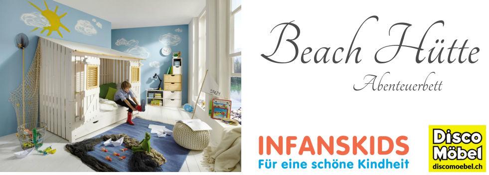 Infans-Abenteuerbett-BeachHütte