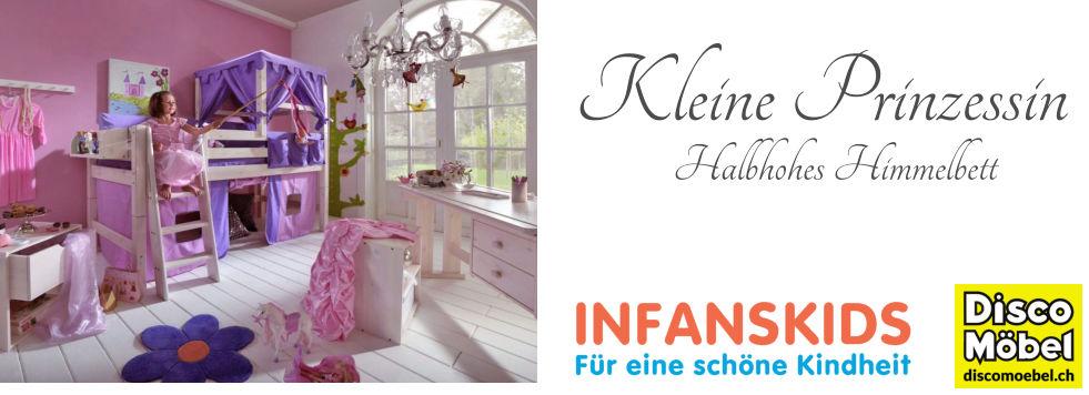 Infans-Themebett-Kleine-Prinzessin