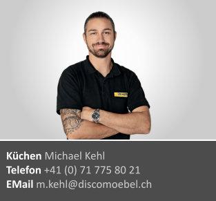 Michael Kehl ¦ Küchenabteilung