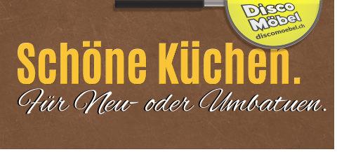 Küchen für Neu-und Umbauten bei Disco Möbel, Marbach.