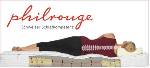 Philrouge - Schweizer Schlafkompetenz bei Disco Möbel, Marbach.