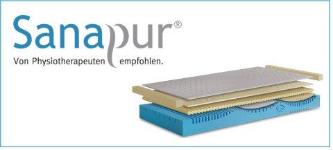 Sanapur, von Physiotherapeuten empfohlen. Jetzt bei Disco Möbel, Marbach.