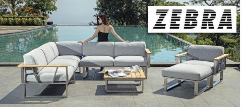 Gartenmöbel von ZEBRA bei Disco Möbel, Marbach.