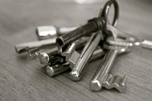 Schlüsselkasten und Schlüsselbrett