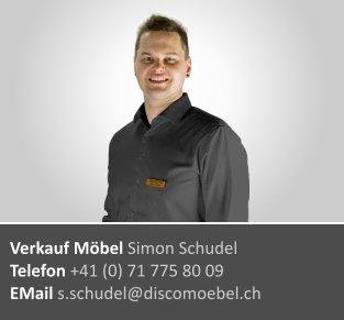 Simon Schudel ¦ Möbelverkauf
