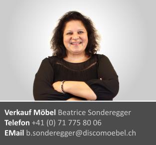 Beatrice Sonderegger ¦ Möbel Beratung und Verkauf