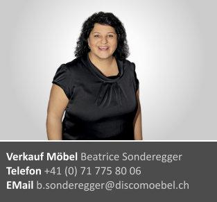 Beatrice Sonderegger ¦ Möbelverkauf