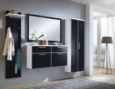Glas-Garderobe, Eingangsbereich, Wohnungseinrichtungen, Flur, Voss Möbel