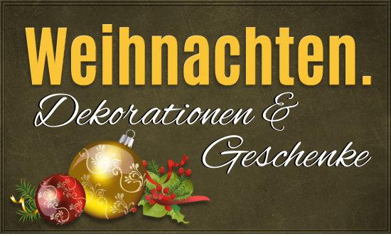 Weihnachten bei Disco Möbel, Geschenkideen, Baumschmuck und Dekorationen